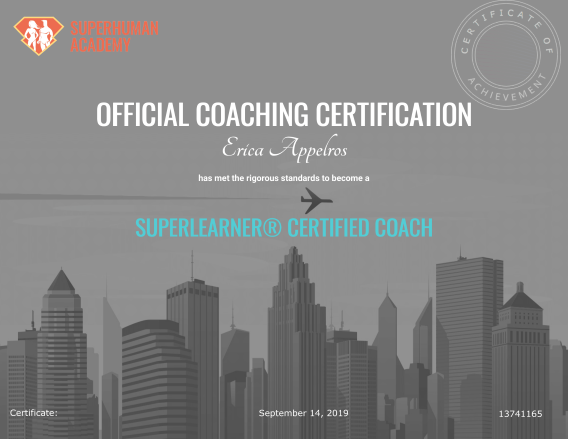 Superlearner coach certificate